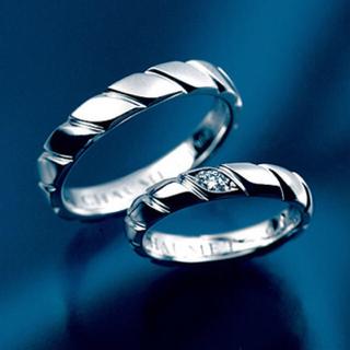 ショーメ(CHAUMET)のショーメ トルサード ダイヤ リング(リング(指輪))