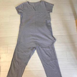 MUJI (無印良品) - 【値下げ】無印良品 パジャマ ルームウェア チェック グレー