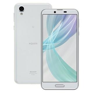 アクオス(AQUOS)の新品未使用 SHARP AQUOS sense plus SH-M07 ホワイト(スマートフォン本体)