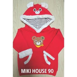 ミキハウス(mikihouse)のMIKI HOUSEミキハウス パーカー(ジャケット/上着)