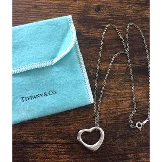 Tiffany & Co. - Tiffany オープンハート シルバー