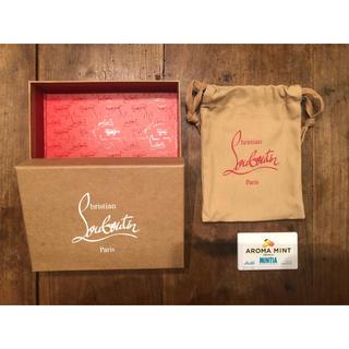 クリスチャンルブタン(Christian Louboutin)の【新品未使用】Christian Louboutin  箱&袋  財布用(ショップ袋)