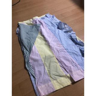 マメ(mame)のタロウホリウチTAROHORIUCHI ストライプスカート(ひざ丈スカート)