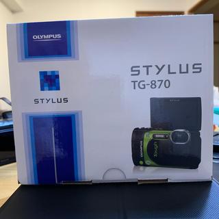 オリンパス(OLYMPUS)のOIYMPUS STYIUS TG-870(コンパクトデジタルカメラ)