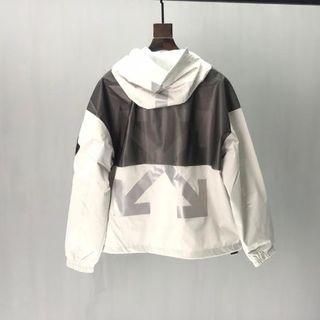 OFF-WHITE - オフホワイト蒙口連名版コート3M反射コート 男女兼用