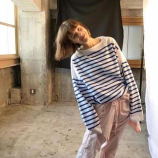 コモリ(COMOLI)のOUTIL バスクシャツ(Tシャツ/カットソー(七分/長袖))