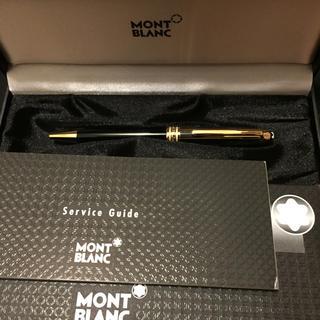 モンブラン(MONTBLANC)のモンブラン ボールペン ブラック&ゴールド(ペン/マーカー)