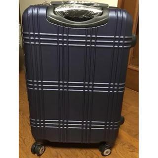 Lサイズ スーツケース キャリーケース ネイビー