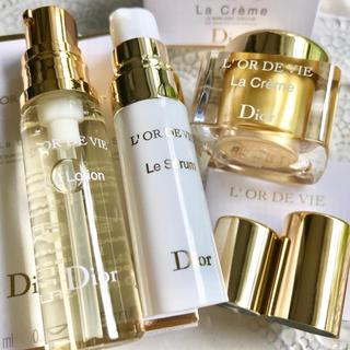 Dior - 【お試し3製品✦17,880円分】オードヴィ ラローション ラクレーム ルセラム