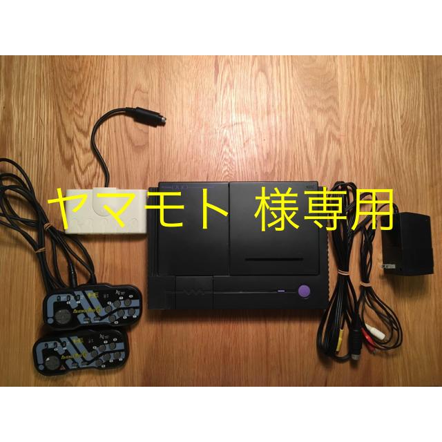 NEC(エヌイーシー)のPCエンジン DUO ソフト2つ付 エンタメ/ホビーのゲームソフト/ゲーム機本体(家庭用ゲーム機本体)の商品写真