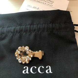 acca - 新品未使用 acca ベリー リースクリップ