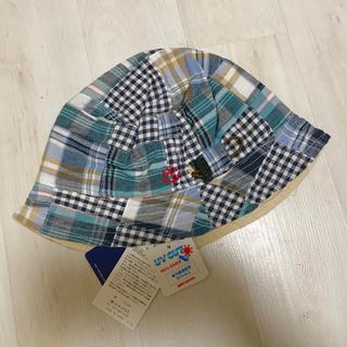 ミキハウス(mikihouse)のミキハウス 帽子 ブラックベア リバーシブル(帽子)