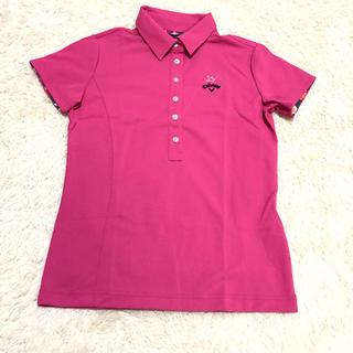 キャロウェイゴルフ(Callaway Golf)のCallaway キャロウェイ 新品ゴルフ用ポロシャツ(ウエア)