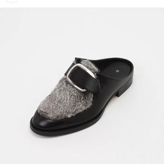 エンダースキーマ(Hender Scheme)の17-18AW ラビットファー(ローファー/革靴)