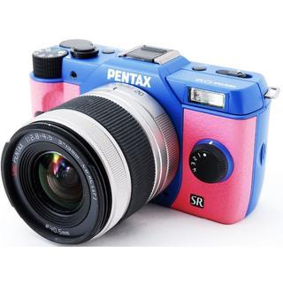 ペンタックス(PENTAX)の❤️Wi-Fi対応❤️この可愛い色に一目ぼれ❤️PENTAX Q10❤️(ミラーレス一眼)