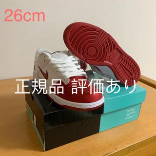 シュプリーム(Supreme)のSupreme Nike SB Dunk Low White 26cm(スニーカー)
