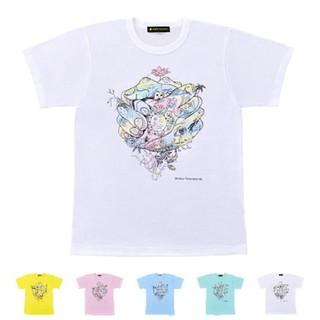 アラシ(嵐)のチャリTシャツ(白)Mサイズ(Tシャツ(半袖/袖なし))