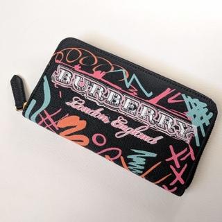 BURBERRY - ラスト1【新品】BURBERRY ユニセックス グラフィティ 長財布