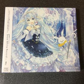 ラスト!初音ミク Snow White Record 雪ミク10周年記念CD(ボーカロイド)