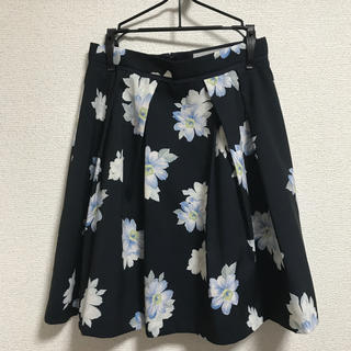 リランドチュール(Rirandture)のリランドチュール マーガレットスカート  ネイビー S(ひざ丈スカート)