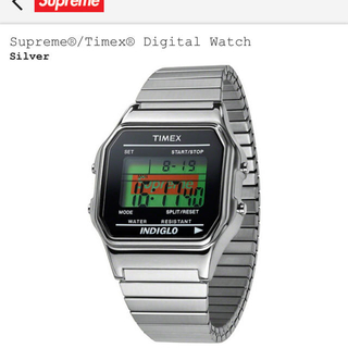 Supreme timex digital watch 時計