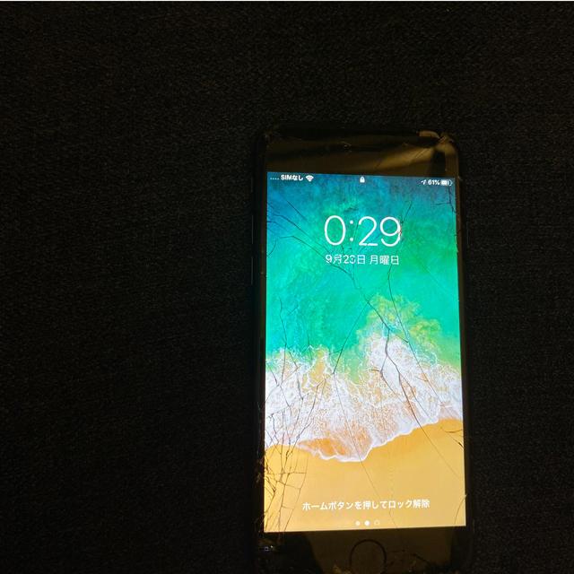 iPhone(アイフォーン)のiphone7本体128GB スマホ/家電/カメラのスマートフォン/携帯電話(スマートフォン本体)の商品写真