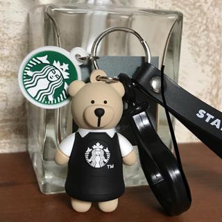 Starbucks Coffee - 【即購入大歓迎】新品★海外スターバックス★ ベアリスタ キーホルダー ストラップ