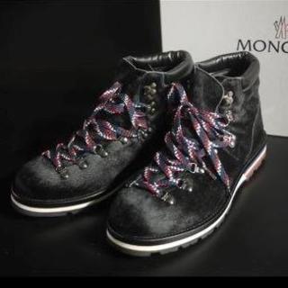 モンクレール(MONCLER)の新品 MONCLER モンクレール マウンテンブーツ 29cm ギャラ付 正規店(ブーツ)