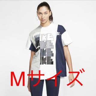 sacai - nike sacai Edition Tシャツ グレーホワイト Mサイズ