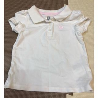 エイチアンドエム(H&M)のH&M 白いポロシャツ(Tシャツ)