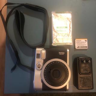 富士フイルム - チェキ instax mini90 ネオクラシック 黒 美品