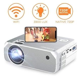 LED プロジェクター 3900lm WiFiで無線接続可 スマホと直接接続可(プロジェクター)