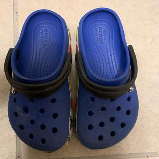 クロックス(crocs)のクロックス キッズ用 青 ディズニー 16センチ(スニーカー)