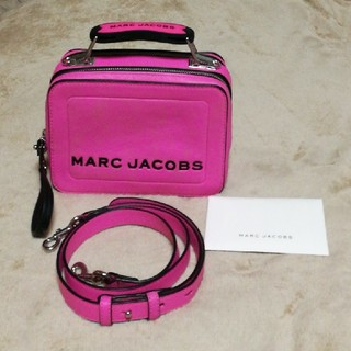 マークジェイコブス(MARC JACOBS)のMARC JACOBS マークジェイコブス THE BOX 20 ピンク(ショルダーバッグ)