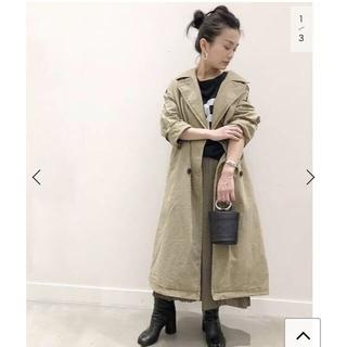 アパルトモンドゥーズィエムクラス(L'Appartement DEUXIEME CLASSE)のAP STUDIO Chino cloth Trench Coat◆(トレンチコート)