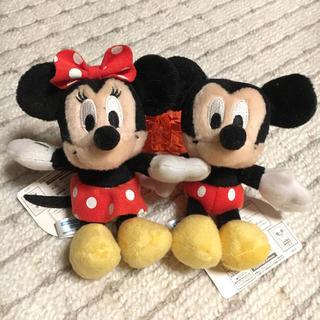 ディズニー(Disney)のDisney ミニーミッキーマスコット(キャラクターグッズ)