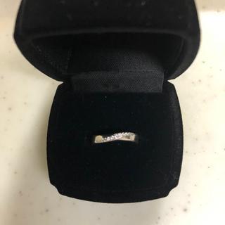 ジュエリーツツミ(JEWELRY TSUTSUMI)のK10ホワイトゴールド スウィート10ダイヤリング(リング(指輪))