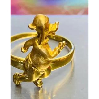 Disneyディズニー グーフィー20金リング 20金20kグーフィー指輪(リング(指輪))
