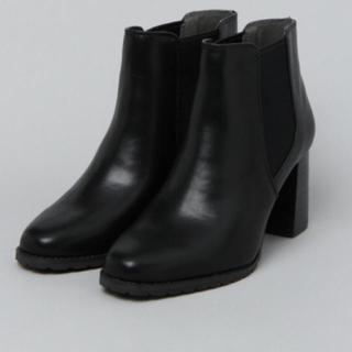 ジーナシス(JEANASIS)のジーナシス  サイドゴアヒールブーツ ブラック(ブーツ)