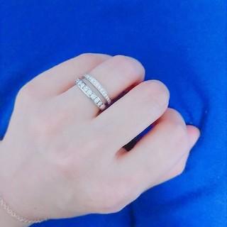 Tiffany & Co. - ティファニー  ウェディングバンドリング ハーフエタニティ  ダイヤモンドリング