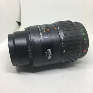ペンタックス(PENTAX)のPENTAX F ZOOM 70-200 F4-5.6です(・∀・)(レンズ(ズーム))