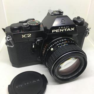 ペンタックス(PENTAX)のPENTAX K2とM 50mm F1.4のセット動作品です(・∀・)(フィルムカメラ)