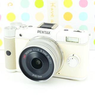 ペンタックス(PENTAX)の✨お洒落カワイイ✨Wi-Fiでスマホ転送✨ペンタックス PENTAX Q(ミラーレス一眼)