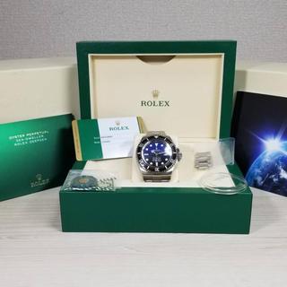 ロレックス(ROLEX)のROLEXロレックス シードゥエラーディープシーDブルー  126660 正規品(腕時計(アナログ))