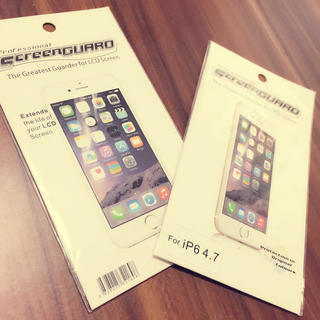 iPhone6 60円 * 保護フィルム(スマートフォン本体)