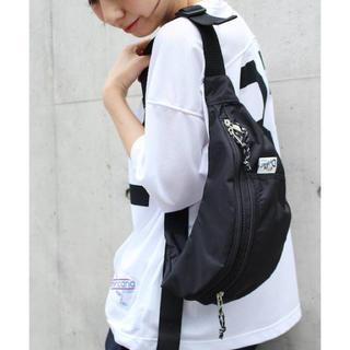 ドゥーズィエムクラス(DEUXIEME CLASSE)のDRIFTER BODY BAG ブラック(ボディバッグ/ウエストポーチ)