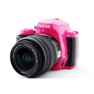 ペンタックス(PENTAX)の★かわいいピンク♪WiFiカード付き★ペンタックス K-r レンズキット(デジタル一眼)