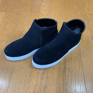 ビームス(BEAMS)のビームス ショートブーツ ブラック Lサイズ 未使用 最終価格(ブーツ)