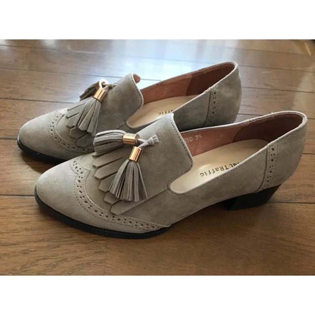 ORiental TRaffic(オリエンタルトラフィック)のオリエンタルトラフィック タッセルシューズ ローファー 35 グレー レディースの靴/シューズ(ローファー/革靴)の商品写真