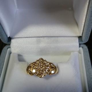 k18 1ct ダイヤモンドリング
